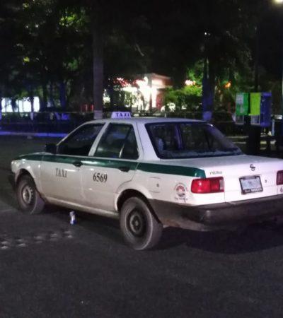 INTENTAN EJECUTAR A UN TAXISTA EN LA REGIÓN 99: Atacan a balazos a conductor y queda herido