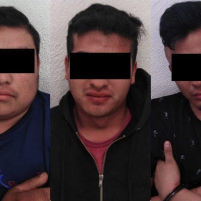 Detienen a trío de ladrones que atracaron taller de lanchas en la colonia Forjadores de Playa del Carmen