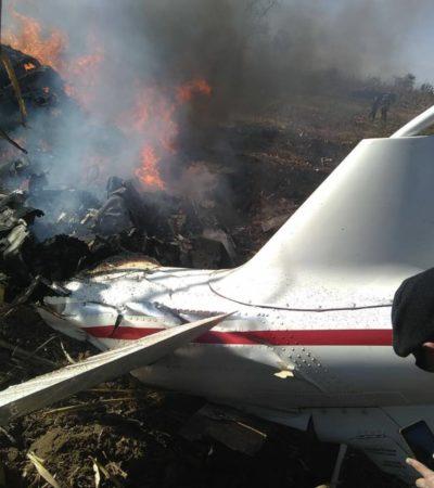 Crean diputados comisión especial para investigar accidente aéreo en Puebla