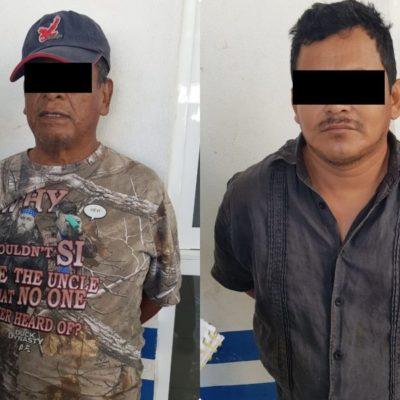 Caen dos por robo a casa habitación en el fraccionamiento Palmas II de Playa del Carmen
