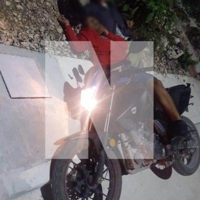 DOBLE EJECUCIÓN EN PUERTO AVENTURAS: Matan a balazos a dos jóvenes cuando circulaban en una moto