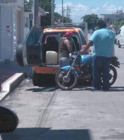 Denuncian supuesto 'huachicoleo' en Chetumal