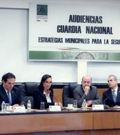 Pide Laura Fernández no excluir a los municipios en las tareas de seguridad en México