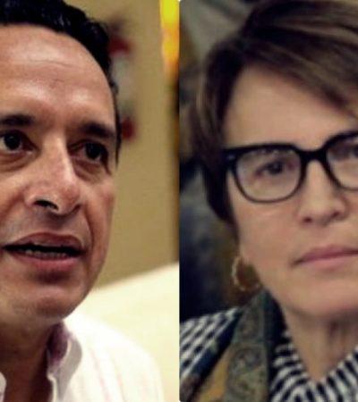 Rompeolas: Se ventila en la Cámara de Diputados la mala relación entre Carlos Joaquín y Laura Beristaín