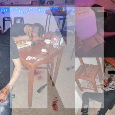MASACRE EN BAR DE VILLAS DEL SOL: Saldo preliminar de siete muertos por ataque en el antro 'Las Virginias' en colonia de Playa del Carmen
