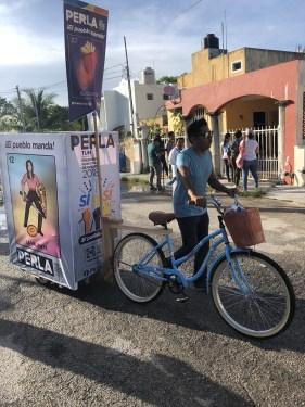 Quiere Movimiento Ciudadano a Perla Tun como candidata a diputada por Cozumel