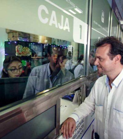 Aprovechan cozumeleños descuento del 20% en el pago anticipado del predial