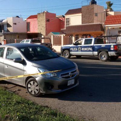 Quería auto nuevo, fue aprehendido por la policía de Chetumal