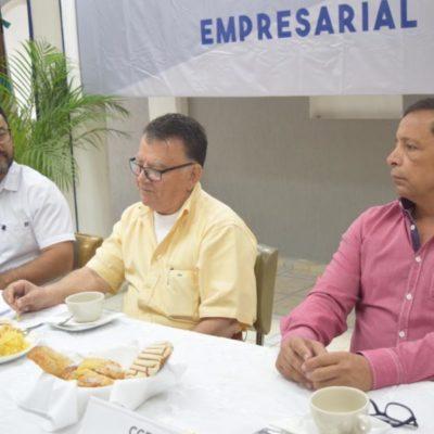 Empresarios de la zona sur de QR se reúnen con Arturo Abreu para tratar temas sobre desarrollo económico