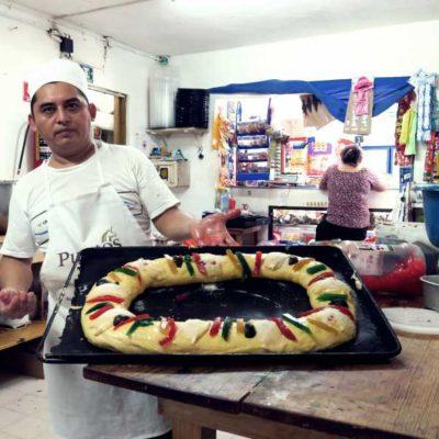 Las panaderías de Cancún, preparadas para la venta de la tradicional 'Rosca de Reyes'