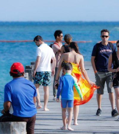 Incrementa el interés del turista nacional en conocer el Caribe mexicano