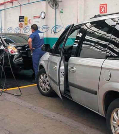 LATENTE LA INSTALACIÓN DE LOS BORGISTAS VERIFICENTROS EN QR: Por segundo año consecutivo, el gobierno de Carlos Joaquín contempla la verificación vehicular