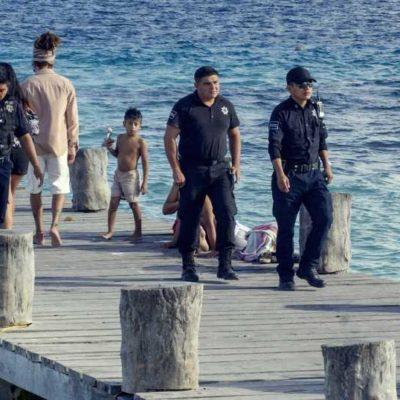 MANTIENEN VIGILANCIA EN ZONAS TURÍSTICAS: Reportan saldo blanco durante el Operativo Vacacional, Temporada de Invierno 2018, que concluyó hace unos días en Puerto Morelos