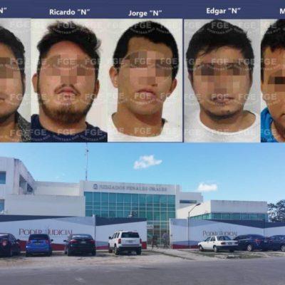 Vinculan a proceso a presuntos homicidas de 'Las Virginias'