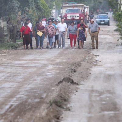 Gobierno de Cozumel pone en marcha reconstrucción del acceso principal a 'Las Fincas'
