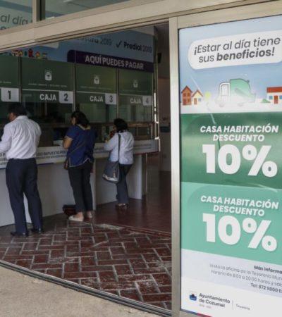 Invita Pedro Joaquín a aprovechar los últimos días del descuento de impuesto predial