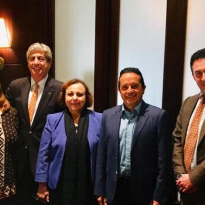 Se reúne Pedro Joaquín con representantes de navieras; Cozumel mantendrá liderazgo turístico en el sector, asegura