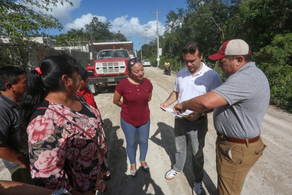 Gobierno de Cozumel atiende añeja petición de los pobladores, la cual beneficiará a más de 600 familias de 'Las Fincas'