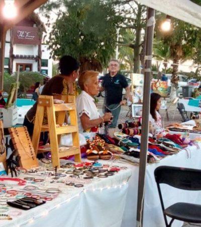 Tianguis de Artesanos y Productores se consolida como vitrina para la venta y exhibición de productos elaborados por habitantes de Puerto Morelos