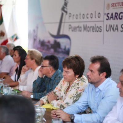 Se compromete Pedro Joaquín con la búsqueda integral de solución al problema del sargazo