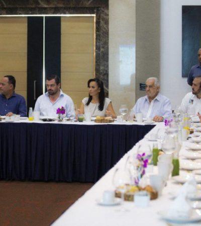 Laura Fernández se reúne con hoteleros para afinar estrategias de promoción turística para Puerto Morelos