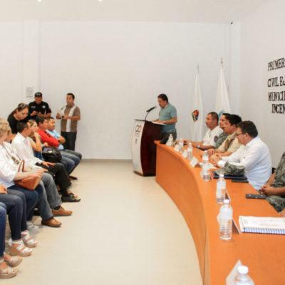 Instalan el Comité de Prevención, Atención y Combate de Incendios Forestales en Puerto Morelos