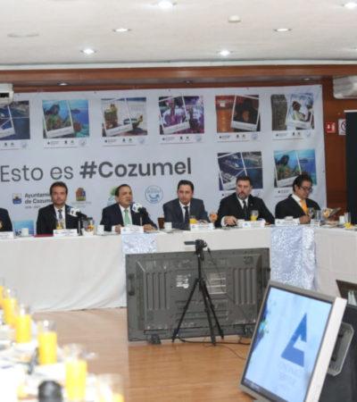 Pedro Joaquín  pone en marcha estrategia para fortalecer el liderazgo turístico de Cozumel en México y América Latina