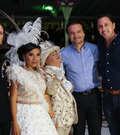 Destaca Pedro Joaquín participación de la sociedad en arranque del Precarnaval Cozumel