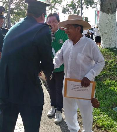 Pide General maya de la Cruz Parlante, José Isabel Sulub Cima, degrado a soldado por entregar bastón de mando a Andrés Manuel, cese intervesionismo del Estado en decisiones de los dignatarios