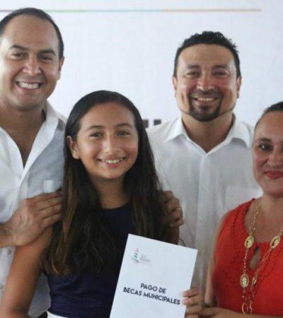 Gobierno de Isla Mujeres convoca a estudiantes para integrarse al Programa de Becas Municipales