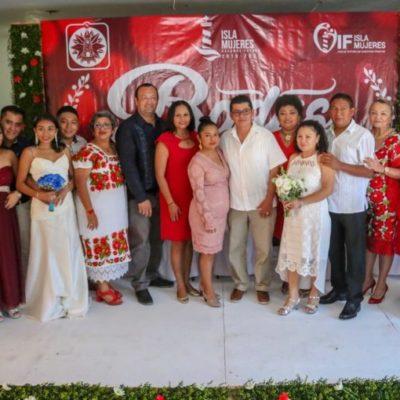 Gobierno de Isla Mujeres celebra el Día del Amor con bodas colectivas