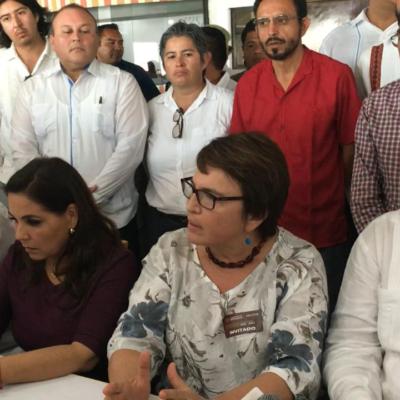 Ataques contra Morena y sus funcionarios, consecuencia de la incomodidad de la gente del Gobierno, dicen Ricardo Velazco en conferencia de prensa