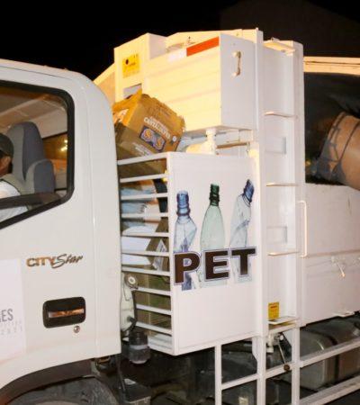 Aseguran que el 70% de la población en Isla Mujeres ya cumple con los nuevos horarios para la recolección de la basura