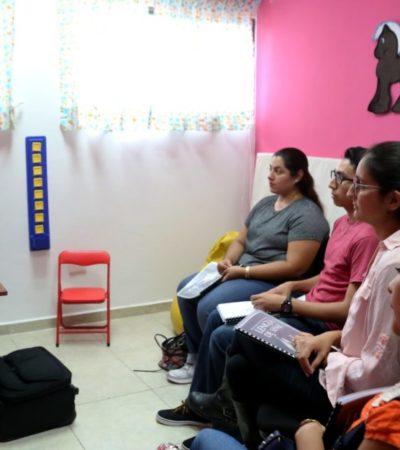 A través del DIF y el CRIM, Gobierno de Isla Mujeres imparte cursos de Lengua de Señas y Sistema Braille
