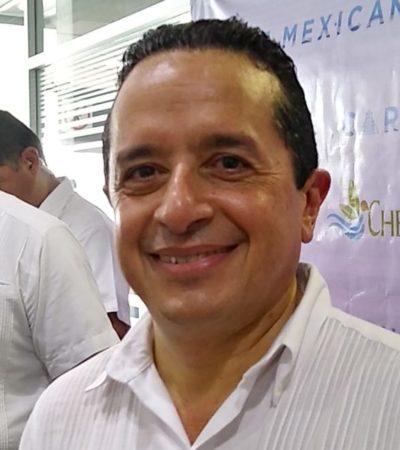 Dice Carlos Joaquín que no le avisaron con suficiente tiempo para asistir a reunión con funcionarios federales de seguridad y no tuvo tiempo de programar un vuelo