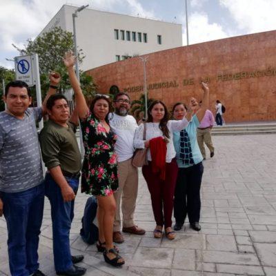 Tribunal de Circuito en Cancún, concede amparos a 21 maestros que fueron cesados por protestar contra la Reforma Educativa; los docentes serán reinstalados y se les pagaría los salarios caídos