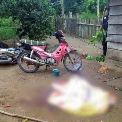 ACRIBILLAN A FAMILIA EN TABASCO: El padre descansaba con una bebé en brazos y junto a un menor de 15 años
