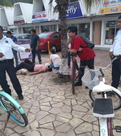 Detienen a un joven por acuchillar a su novia en Playa el Carmen