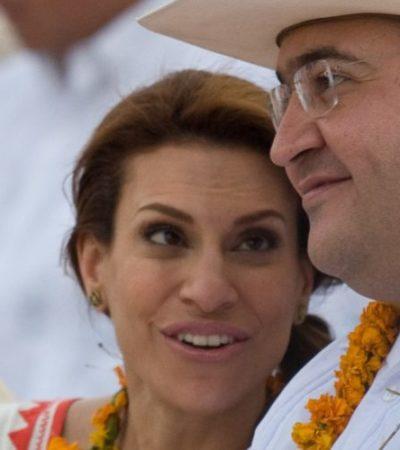 Gasta Karime Macías $180 mil al mes en Londres; 'es lo que tengo para enviarle', asegura Javier Duarte