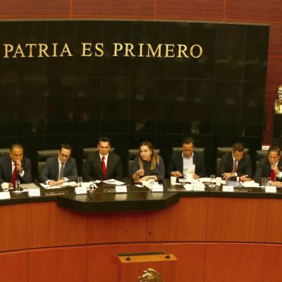 ACUDEN AL SENADO: Tres gobernadores del PRI y uno de Morena apoyan creación de la Guardia Nacional