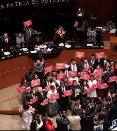Aprueba Senado por unanimidad creación de Guardia Nacional, pese a recelo de AMLO por mando civil