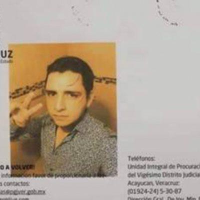 Encuentran muerto a estudiante de ingeniería en Veracruz, a seis días de su desaparición