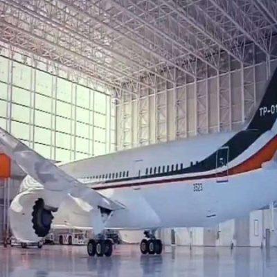 Permanece el ex avión presidencial de México en 'cementerio' de aeronaves en espera de ser vendido