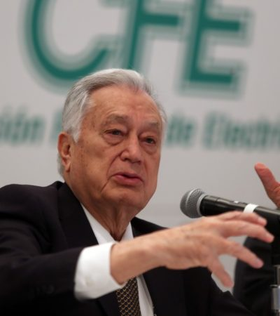 Robaron grandes empresas 30 mil mdp a CFE en 2018; la fallida reforma fue una 'carnicería', dice Bartlett