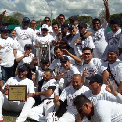 Broncos de JMM, campeones de la liga de beisbol de Quintana Roo
