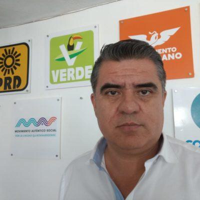 Rechaza representante del PVEM que se 'cuelguen' de Morena