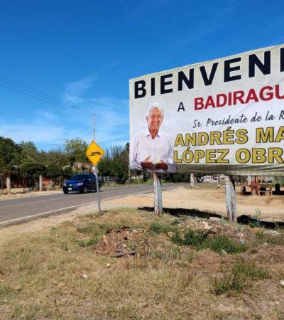 Pide AMLO no estigmatizar a Badiraguato, cuna del 'Chapo', y anuncia desarrollo y educación para habitantes