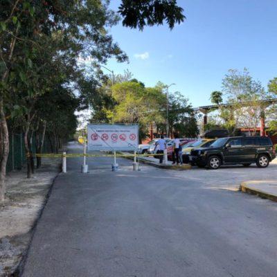 Deportistas acusan a Claudia Pérez por impedir el paso de vehículos al deportivo Riviera Maya, en Playa del Carmen