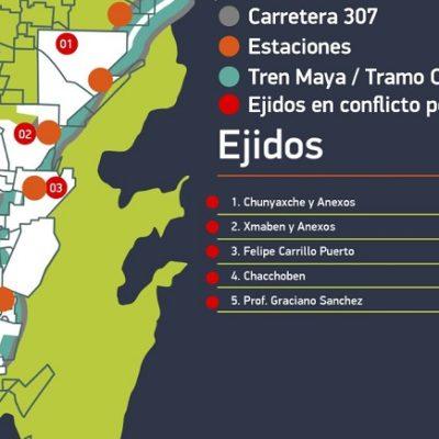 AGRAVIO HISTÓRICO A EJIDATARIOS DE QUINTANA ROO: Tren Maya quiere pasar por tierras sin expropiar ni indemnizar