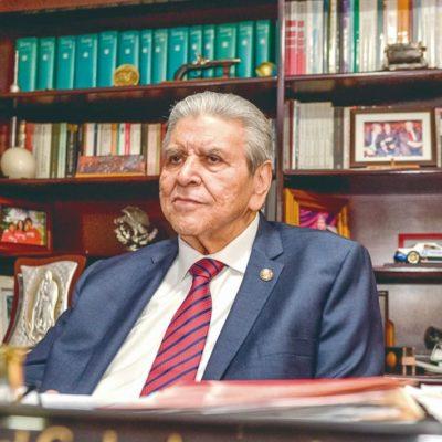 Encontrarán resistencia si quieren desbaratar a la CTM, advierte Carlos Aceves a morenistas